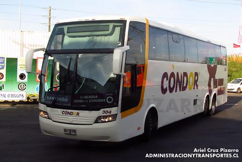 Condor - Rancagua - Busscar Jum Buss 380 / Mercedes Benz (BHYB69)