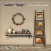 """@ SWANK ~ [CIRCA] - """"Juniper Ridge"""" - Autumn Decor Set"""