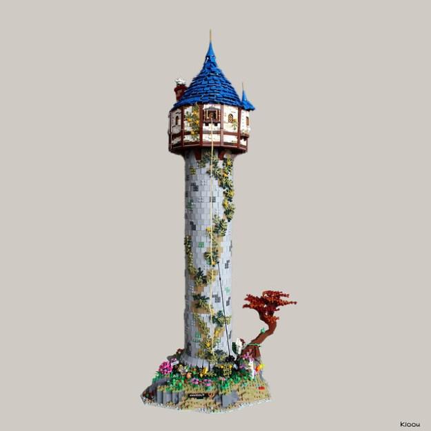 The Rapunzel Tower - La tour de Raiponce