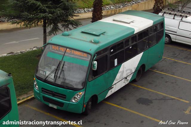 Transantiago H14 | Buses Vule | Caio Foz - Mercedes Benz / BJFG34