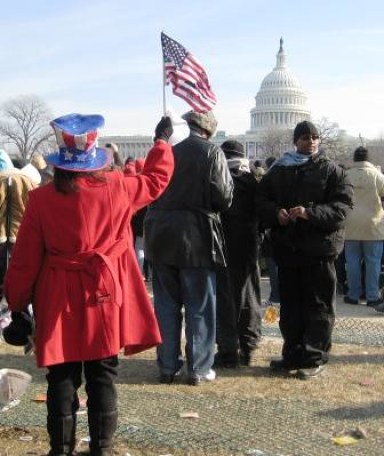 President Barack Obama's Presidential Inauguration in 2009.