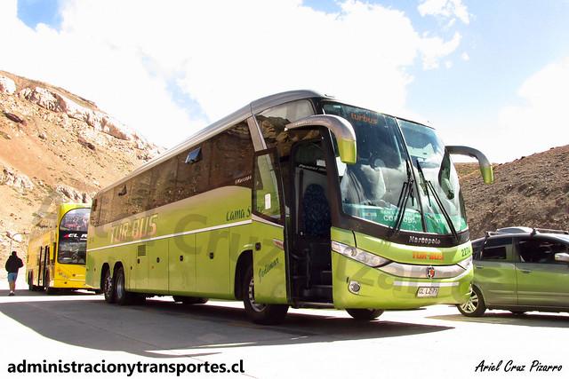 Tur Bus Internacional | Paso Los Libertadores | Marcopolo Paradiso 1200 G7 - Mercedes Benz O500RSD / CLLZ71 - 2774