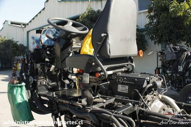 Inrecar S.A | Chasis Mercedes Benz LO916