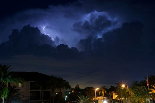Tonight's Lightning Storm in Florida