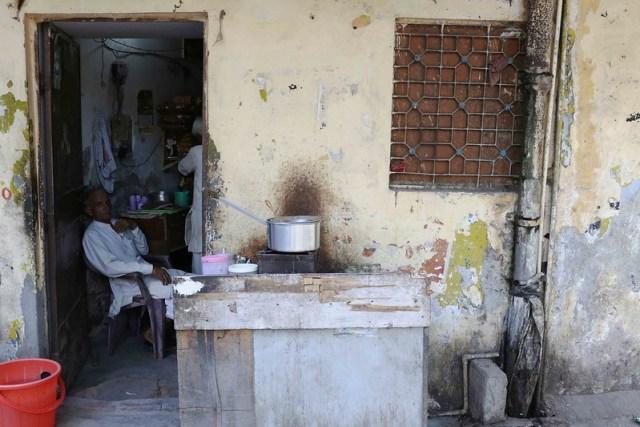City Neighborhood - Sarai Kale Khan, On the Other Side of the Tracks