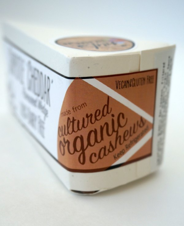 Nuts for Cheese Packaging Sticker | thelittleredspoon.com