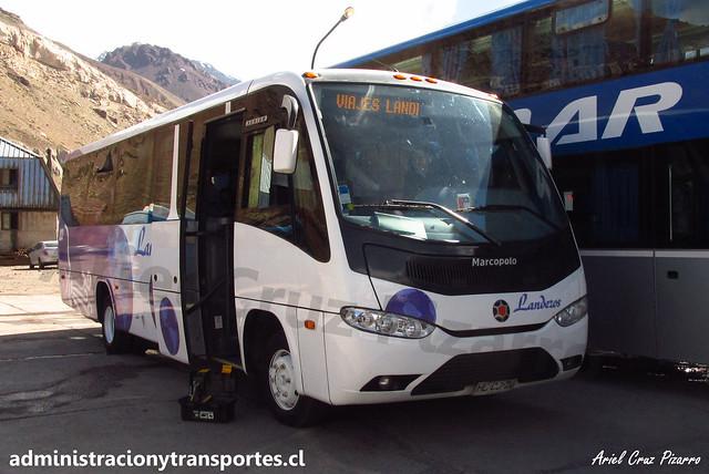 Buses Landeros | Paso Los Libertadores | Marcopolo Senior - Volkswagen / HLCJ20