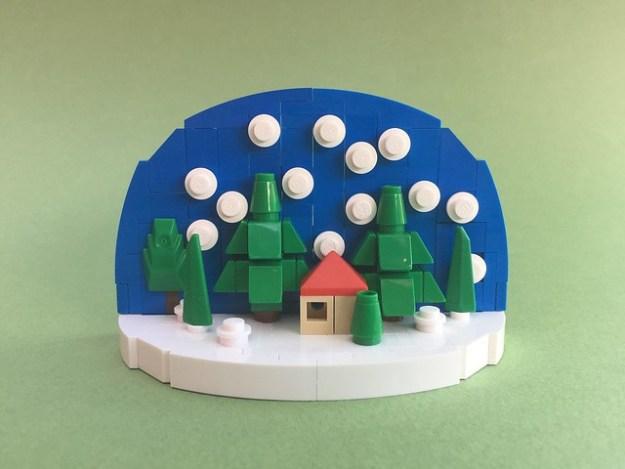 LEGO Snow Globe