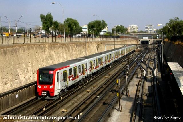 Metro de Santiago | Neptuno - San Pablo | CAF NS2012 N2123