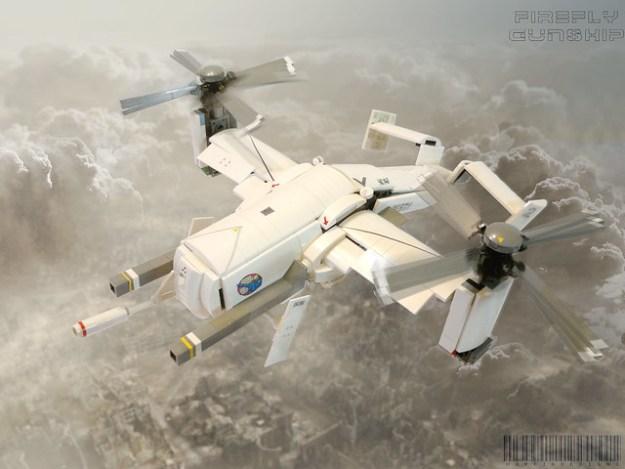 Firefly UCAV gunship
