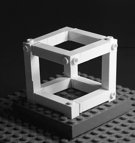 Illusions LEGO : Impossible cube