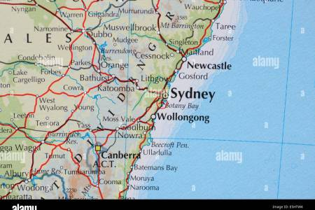Map canberra sydney gumiabroncs Gallery
