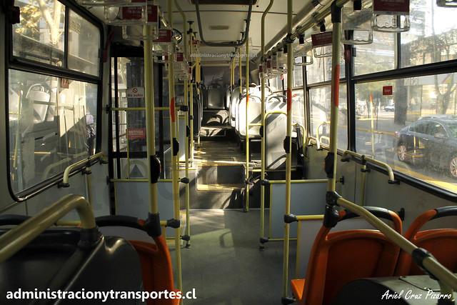 Interior Bus B2K Transantiago
