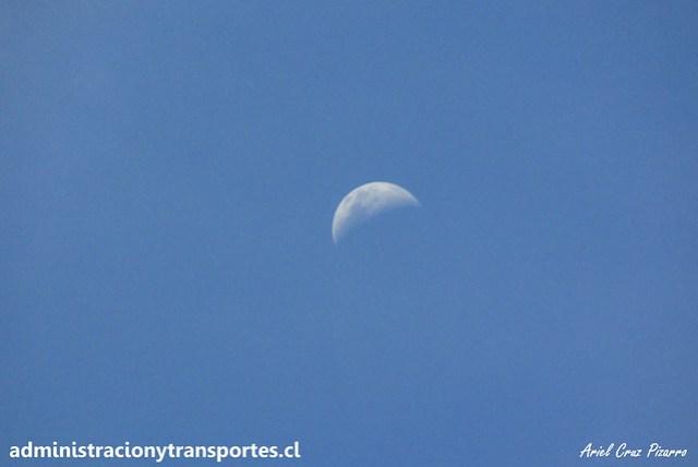 Luna en Paso Los Libertadores