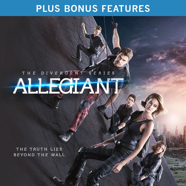 The Divergent Series: Allegiant (plus Bonus Features)