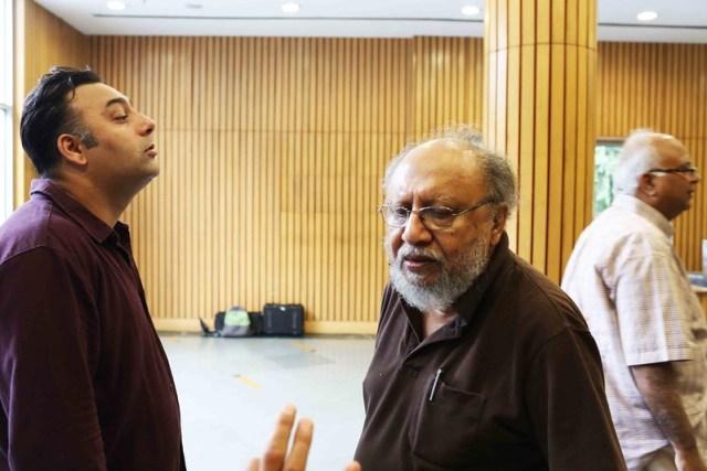 Netherfield Ball – Power Couple Ananya Vajpeyi and Basharat Peer & Former Prime Minister Narasimha Rao, India International Center