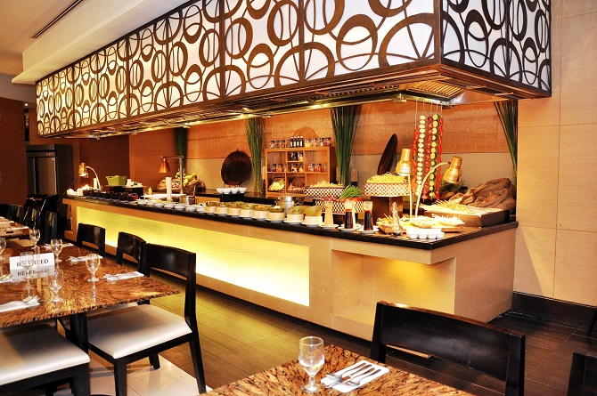 Puso Restaurant Buffet Action Station