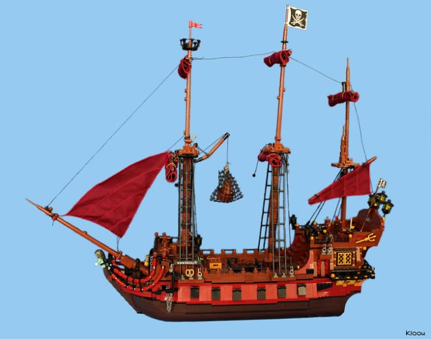 Pirate ship : La Saignante