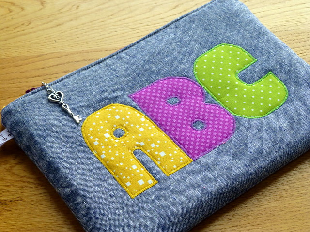 Back to School Pouch (Quilt Now)