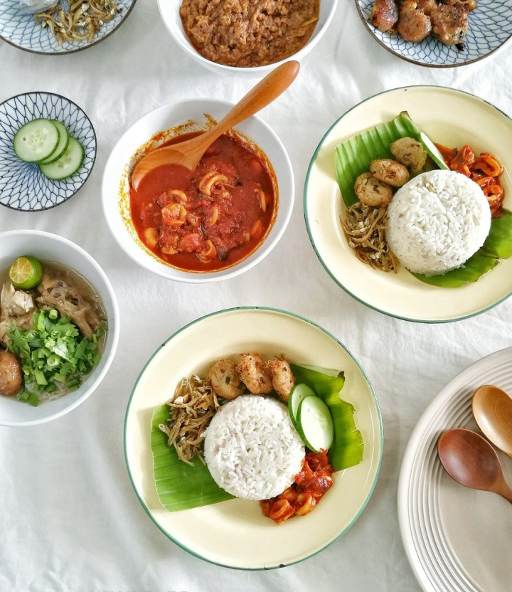 Makanan Melayu Tempatan