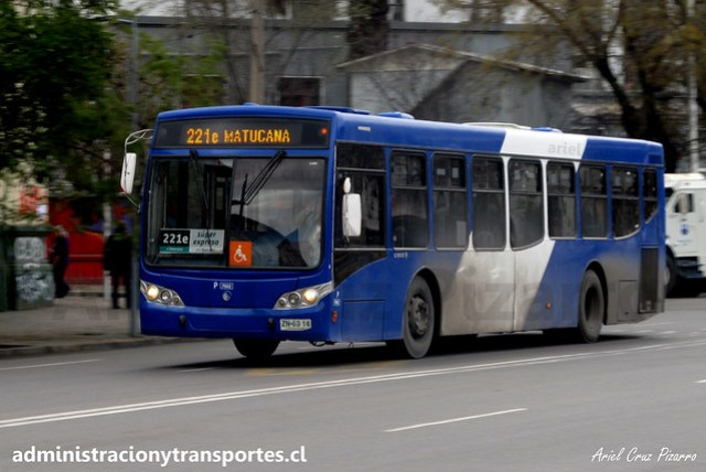 Transantiago 221e | Subus | Caio Mondego L - Volvo / ZN6314 - 7022