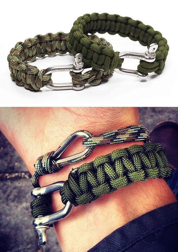 Naimakka Paracord Bracelet ::via werd.