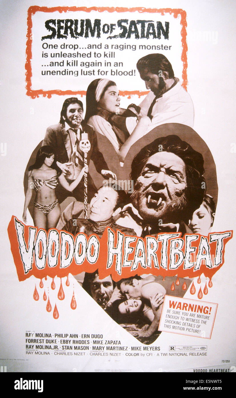 Poster do filme Voodoo Heartbeat