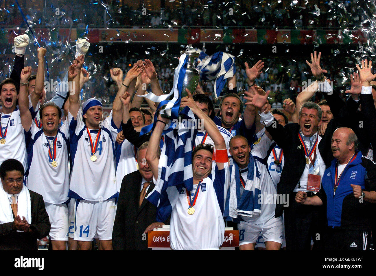 Soccer   UEFA European Championship 2004   Final   Portugal v Greece     Soccer   UEFA European Championship 2004   Final   Portugal v Greece