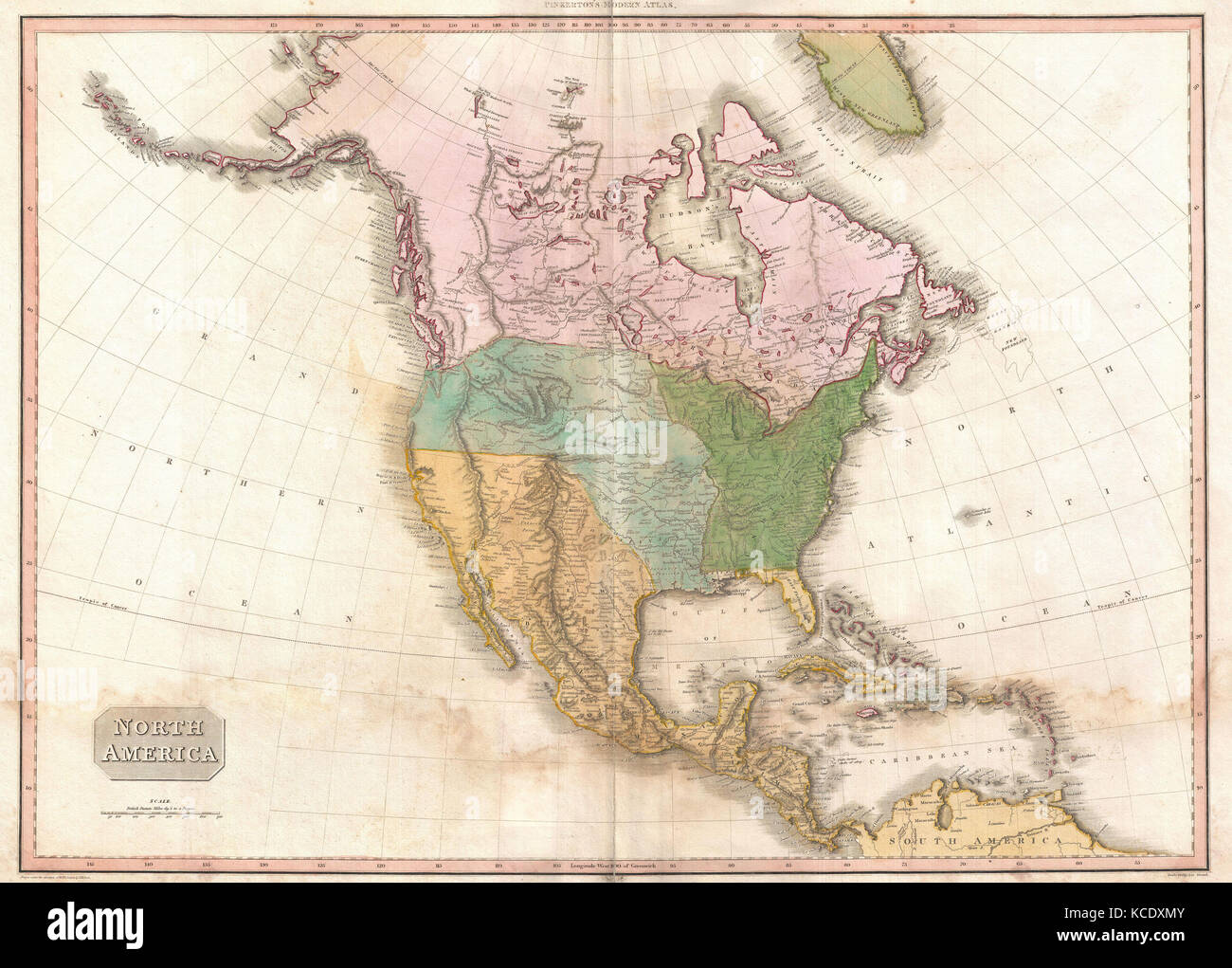 1818  Pinkerton Map of North America  John Pinkerton  1758     1826     1818  Pinkerton Map of North America  John Pinkerton  1758     1826  Scottish  antiquarian  cartographer  UK