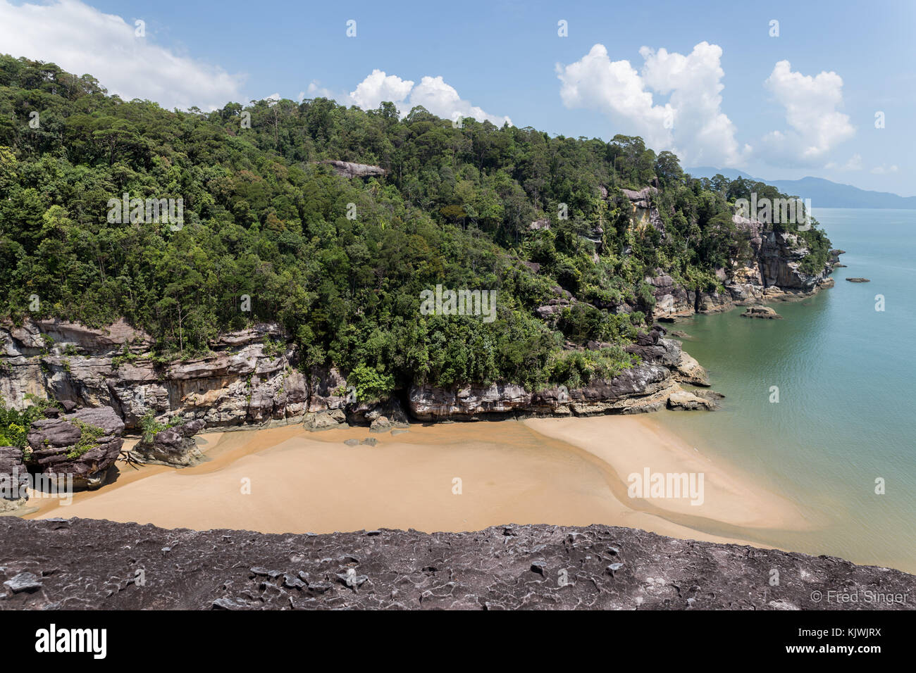 Landscapes at Bako national park in Malaysia  Borneo island Stock     Landscapes at Bako national park in Malaysia  Borneo island