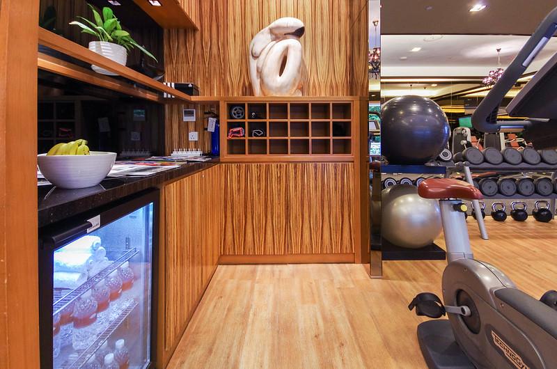 fitness centre - mandarin oriental singapore