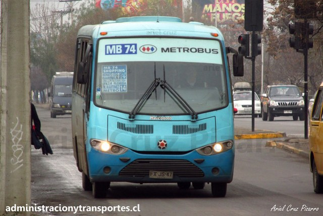 Metrobus MB74 | La Florida | Marcopolo Senior - Mercedes Benz / FXJS47