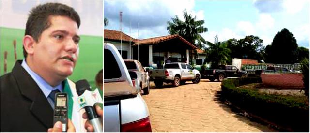 Prefeito é alvo principal de operação do Gaeco realizada hoje em Uruará, Uruará - operação do MP