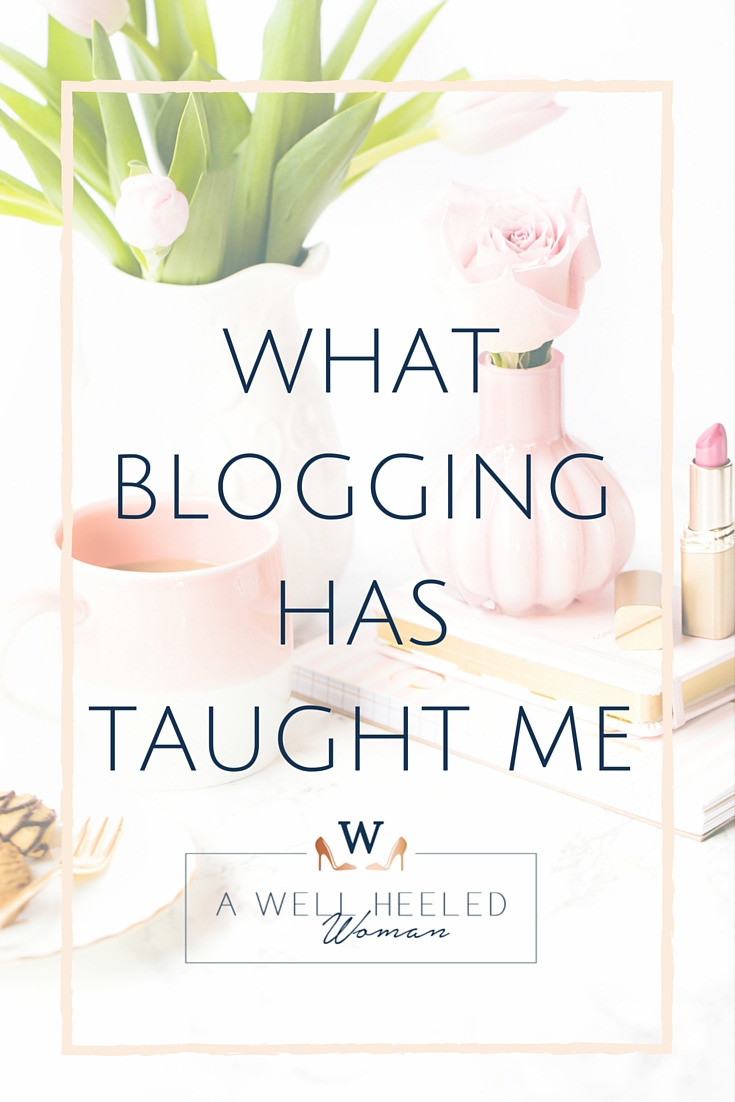 What Blogging has taught me