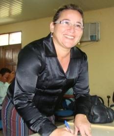 Prefeita veta aumento de salário para nova ocupante do cargo a partir de 2017, foto de Marinete Machado, prefeita de Faro