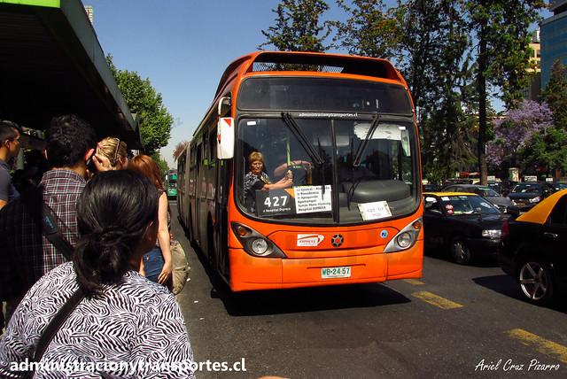 Caos en Metro de Santiago | 14 Noviembre 2014