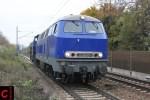 ESG 217 019 in Stuttgart-Ebitzweg