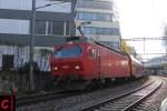 SZU Re 456 542 bei Zürich-Giesshübel