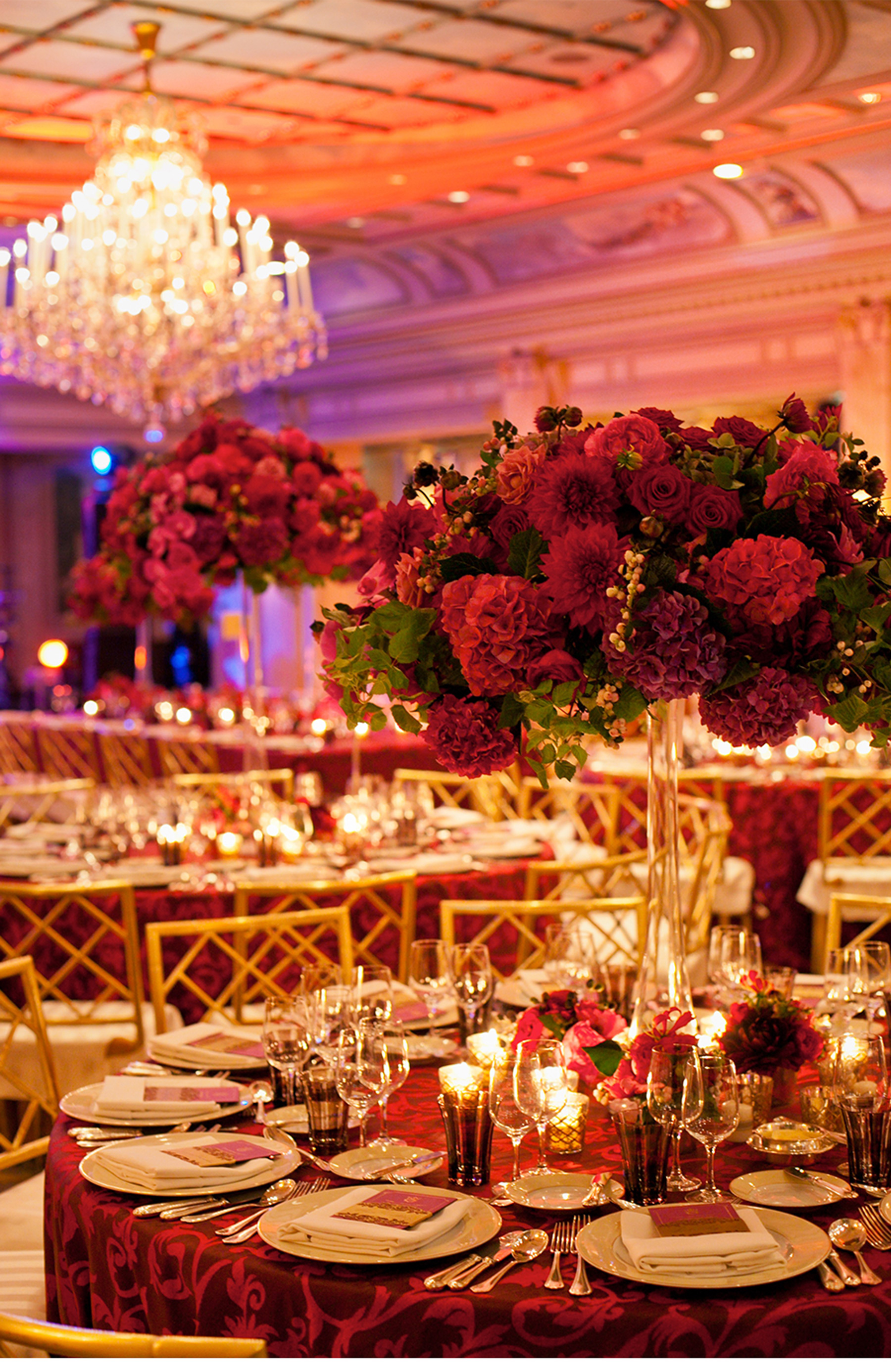 royal purple and gold wedding decorations purple and gold wedding V Our Muse Paris Luxury Wedding Lucas Thierry Part 2