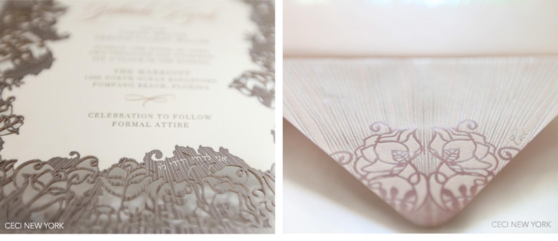 wedding invitations vaughan blush wedding invitations Pink And Gold Wedding Invitations U