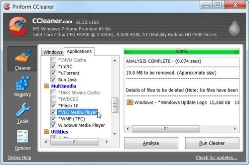 CCleaner Enhancer Makes CCleaner Even Better, Now Cleans 270 New Apps