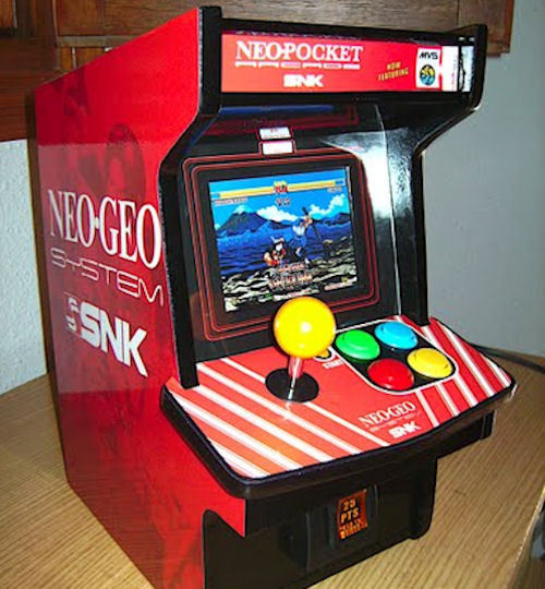He S Spent The Last Five Months Perfecting An Earlier Neo Geo Cabinet Design