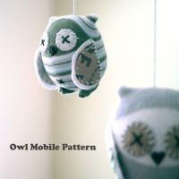 Owl Mobile Pattern