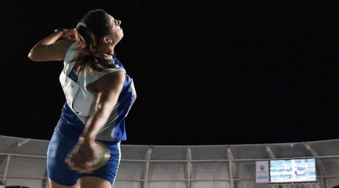 La atleta fue sexta en la final con mejor marca personal.