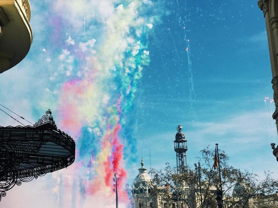 Que el mundo entero disfrute de los colores valencianos quehellip