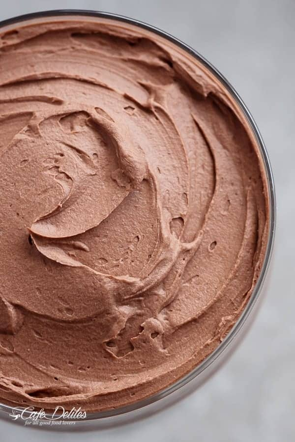 3- Ingredient Double Chocolate Mousse (Low Carb)