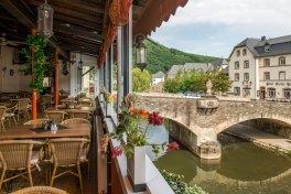Une belle vue sur le pont de Vianden.