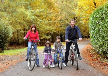 Finding time for exercise with kids in tow