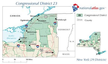 New_York_District_23_109th_US_Congress
