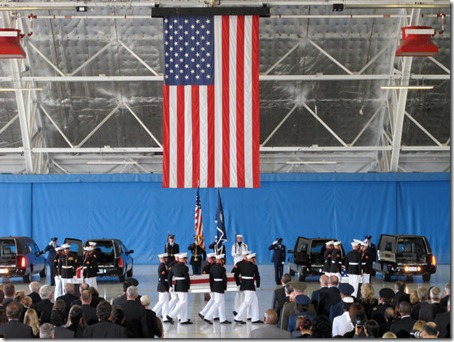 Transfer of Remains Ceremony at Andrews Air Force Base